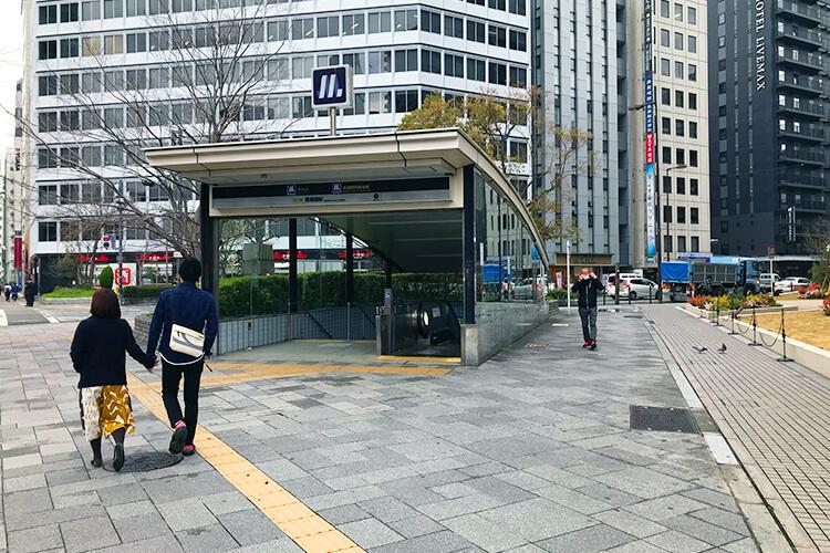 長堀橋駅から徒歩約6分!1番出口が一番近いです。